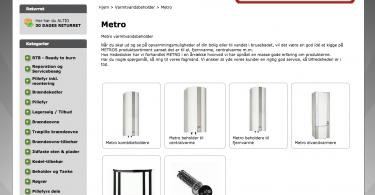 metro varmtvandsbeholder