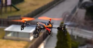 drone til byggeri