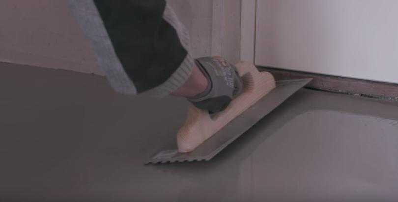 spartling af gulv pris