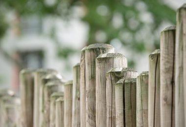 maling af hegn