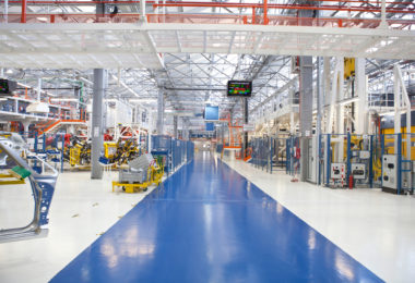 Epoxy gulve er de bedste gulve til industrien