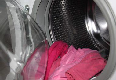 montering af vaskemaskine